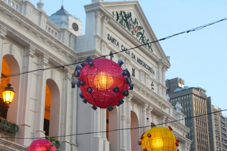 Lanterns in Macau