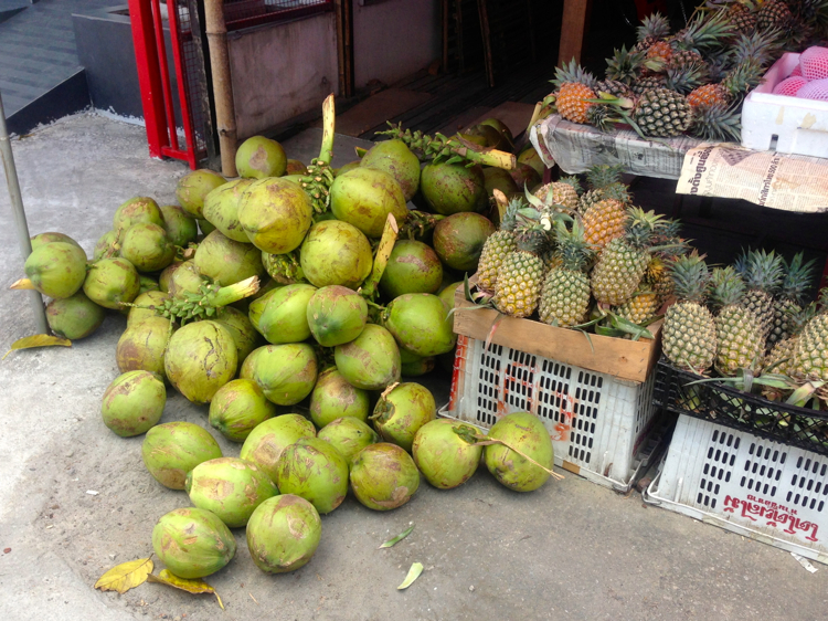 The Water of these Thai Young Coconuts is Phenomenal