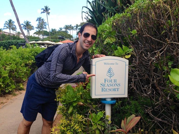 One of my Favorite Spots: Four Seasons Maui