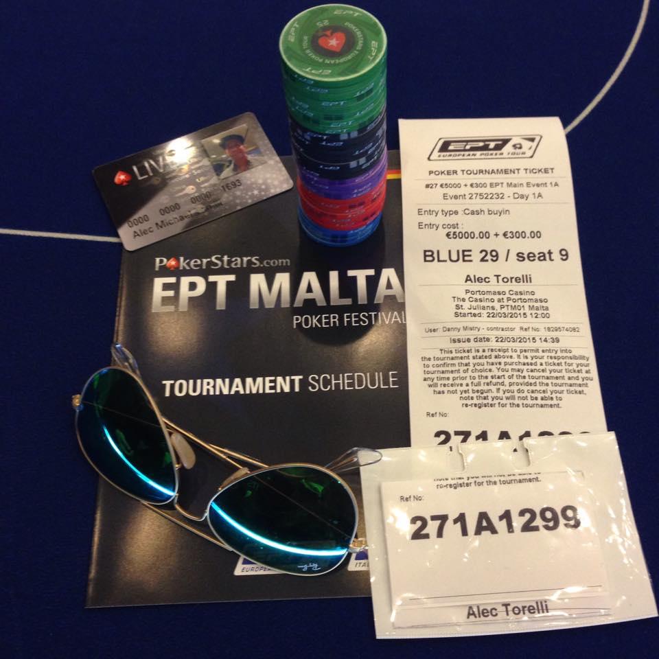 How I Became Chip Leader of the EPT Malta