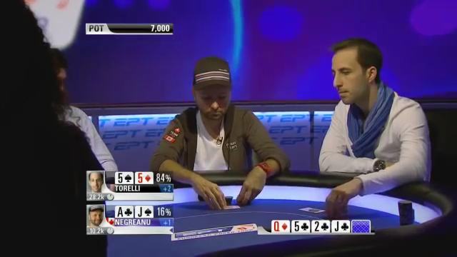 Daniel Negreanu and Alec Torelli at EPT9