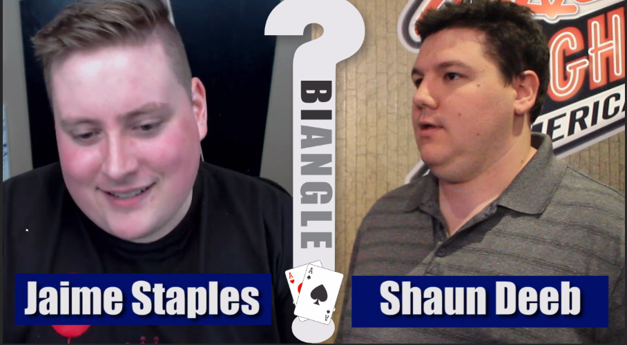 Jaime Staples vs. Shaun Deeb – POKER BIANGLE part 1