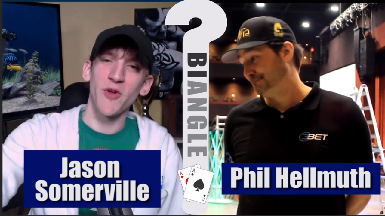 Jason Somerville vs. Phil Hellmuth – POKER BIANGLE part 2
